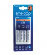 Eneloop 4xAA Batteries and 2HR Quick Charger