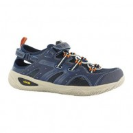 Hi Tec V LITE RIO Adventure Shoe Navy and Orange