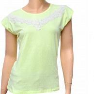 Ladies Top Lime Green Petunia LLP