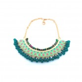 Deep Green Tribal Bib SCNDGT