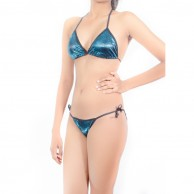 Shiny Bikini Bra Set AM203