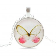 Women Vintage Fashion Butterfly Necklace