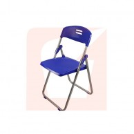 Plastic Folding Chairs Blue Color