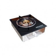 BEKER Single Burner Glass Top Gas Cooker BK506S