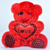 LOVE Plush Toy Red soft toy