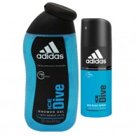 Adidas Ice Dive Deodorant And Shower Gel