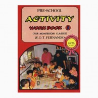 Pre-School Activity Workbook-1 For Montessori Classes L230077