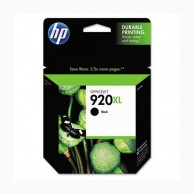 HP 920XL High Yield Black Original Ink Cartridge CD975AA