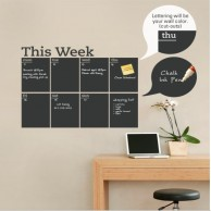 Planner Blackboard Wall Sticker