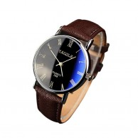 Men's Quartz Brown Watch