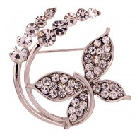 Crystal Brooches B 007