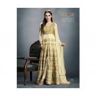 Cream Gulzar Dress G1403