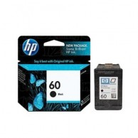 HP 60 Black Original Ink Cartridge CC640WA