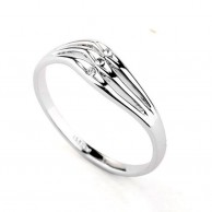 Silver Plated Heart Ring R 032