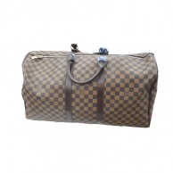 Louis Vuitton Womens Brown Check Designed Handbag