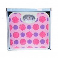 Flower Decorated Personal Scale