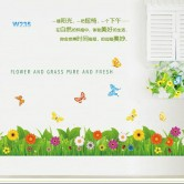 Wall sticker-Flower & Grass