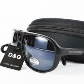 Dolice & Gabbana Black Shades Aviator Sunglasses MS004