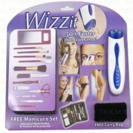 Combo of Wizzit Electric Tweezer Hair Remover With Free Manicure set