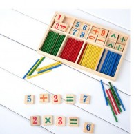 Children Wooden Counting Kit