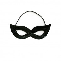 Sparkly Sequinned Eye Mask BB635