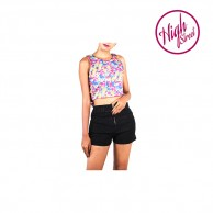 Blossomy Bow Crop Top HS00007