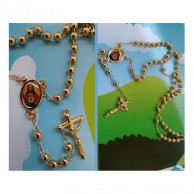 Jesus Rosary Pray Necklace AJN04