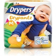Drypers Baby Diapers  DryPantz Medium 10pcs