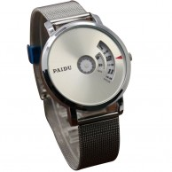 PAIDU Turntable Dial Stainless Steel Watch
