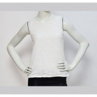 Lace Women Top - White