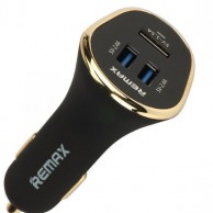 Remax Three Port USB Car Charger – 3U