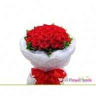 50 Red Rose Bunch RM026