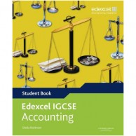 Edexcel IGCSE Accounting with CD Student Book B060372