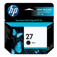 HP 27 Black Original Ink Cartridge C8727AA