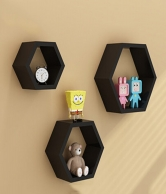 Hexa Gallery 3 Piece Decorative Shelves