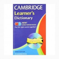 Cambridge Learner's Dictionary-3E with CD B010092