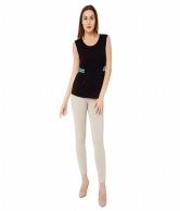 SIDE RIBBED SPORTY TOP AVBL100833