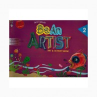 Be An Artist-2 Art & Activity Book D890122
