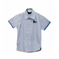 Horse Logo Boys Shirt Light