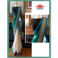 Bollywood Peacock Shaded Saree SR1514