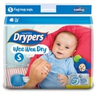 Drypers Baby Diapers Wee Wee Dry Small 32pcs