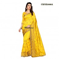 Yellow Zoya Silk Saree Design No CKNX5009A