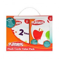 Value Pack Of Educational Flash Cards 11396G