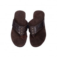 Men's Leather Slipper 1701