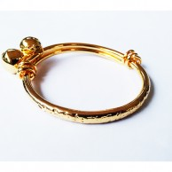 Baby Bangle with Bells EZBA057