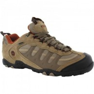 Hi Tec Penrith Low WP Shoe Dessert Light Taupe and Burnt Orange