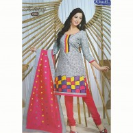 Holiday Cotton Embroidered Shalwar Material 008