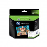 HP 28 Tri Color Photo Pack Original Ink Cartridge C8727AA