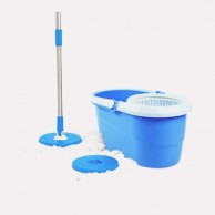 Double Bucket Hand Press Spin Mop