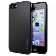 Black Color Apple Iphone 4s Spigen Cover